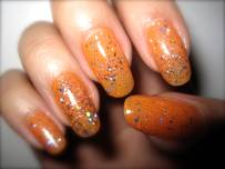 Orange Creamsicle Nails