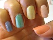 Glitter Pastel Rainbow