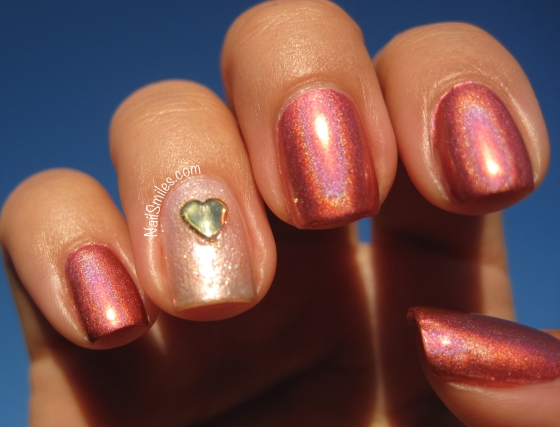 CG Pink Holo With Heart