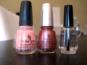 China Glaze Pinks