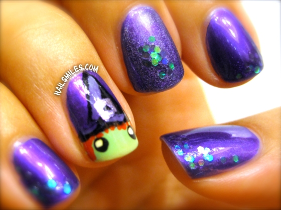 Purple Witch Nails 2