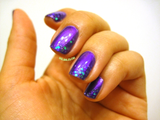 Purple Witch Nails 3