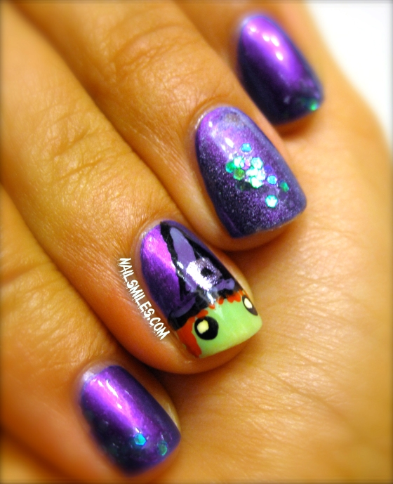 Purple Witch Nails 5