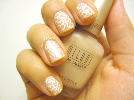Nude Lace Nails Milani