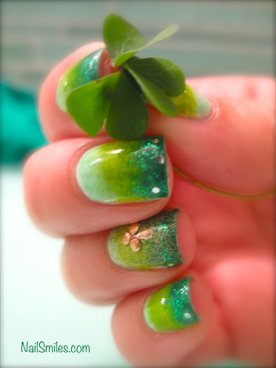 St Paddys 2014 Nails 3